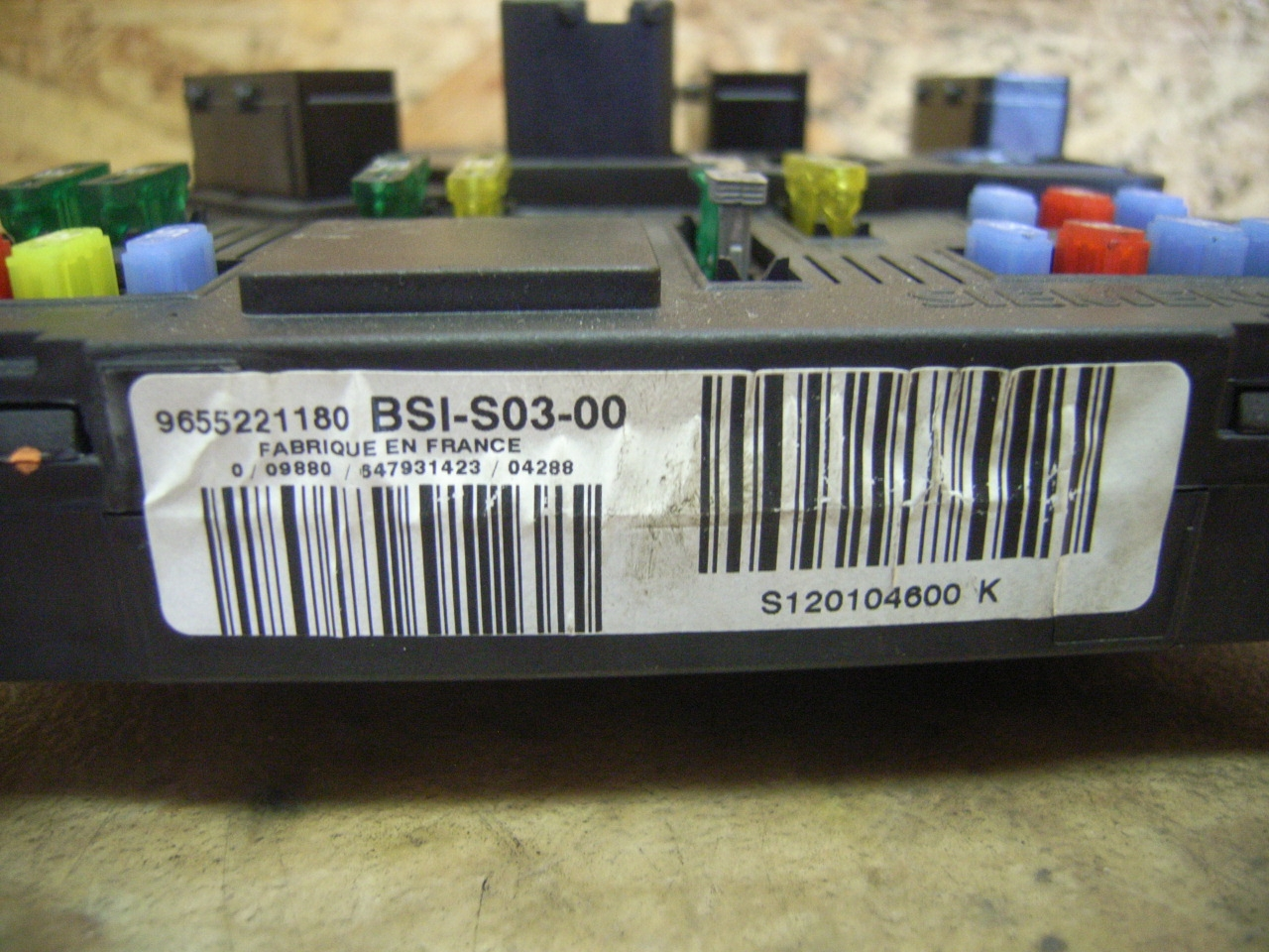 432369 Bote Fusibles Peugeot 407 Sw Bsis0300 Ebay Fuse Box Description De Larticle
