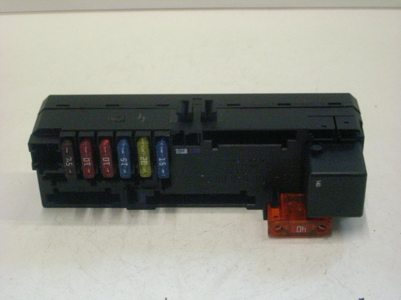 438131 Fuse Box 0005400072 Ebay Mercedes Benz C Class T Model S202 200 Compressor 120 Kw 163 Hp 092000 032001 Product Description